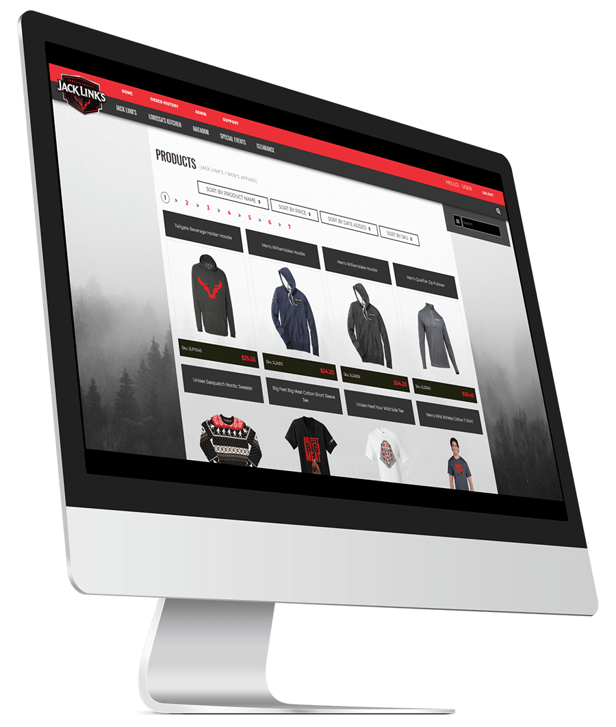 Jack Link's Online Store | E Group